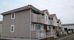 群馬県高崎市島野町の賃貸アパートの外観
