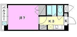 ジョイフル第3小坂[302 号室号室]の間取り