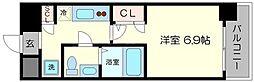 セレニテ福島シェルト[14階]の間取り