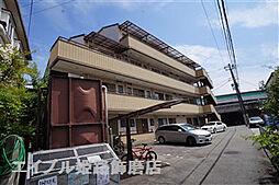 兵庫県姫路市飾磨区阿成の賃貸マンションの外観