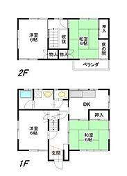 [一戸建] 埼玉県さいたま市南区大谷場2丁目 の賃貸【埼玉県 / さいたま市南区】の間取り