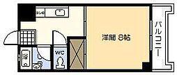 ウィステリアコート[402号室]の間取り