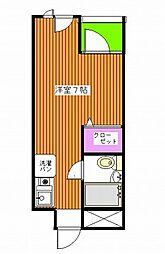 セントヒルズ清水橋 西新宿5丁目6分 3線利用可 分譲賃貸マ[4階]の間取り