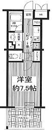 東京都世田谷区代田5丁目の賃貸マンションの間取り
