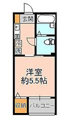 フォセット松戸・上本郷[304号室]の間取り