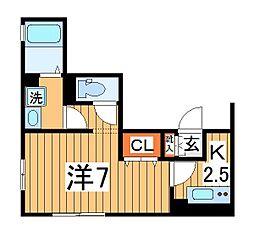 仮)D-roomTV柏[301号室]の間取り
