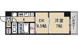 ハイムアレグレ[8階]の間取り