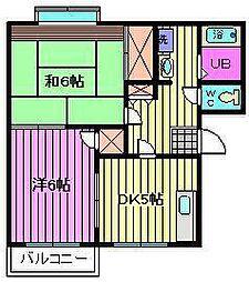 プリムベール岸[2階]の間取り
