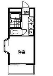 神奈川県座間市緑ケ丘6の賃貸アパートの間取り