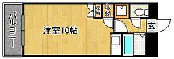 Kステーション八田[7階]の間取り