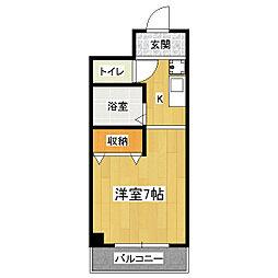 ARBLE[3階]の間取り