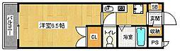 ザ・ペールハイツ[2階]の間取り