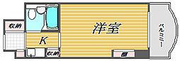ホーユウコンフォルトレディース白楽[4階]の間取り