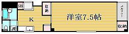 東京都江戸川区松島3丁目の賃貸マンションの間取り