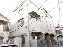 東京都江東区清澄3丁目の賃貸アパートの外観