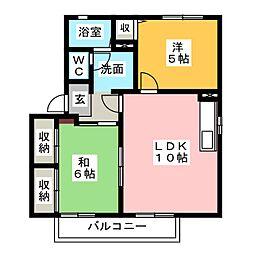 ローレルハイツ[2階]の間取り