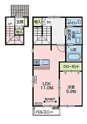 ウィンクルム[2階]の間取り