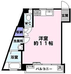 四宮ビル[5階]の間取り