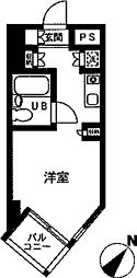 ドミトリー原町田[4階]の間取り
