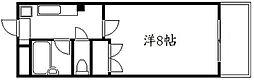 コモドエスペシオ勝山[5階]の間取り
