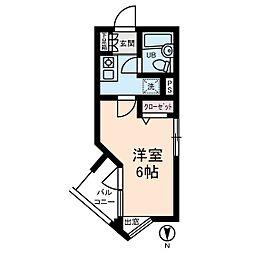 新宿スカイビル[0402号室]の間取り