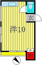 大和第3ビル[1階]の間取り