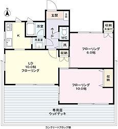[一戸建] 東京都渋谷区西原2丁目 の賃貸【/】の間取り