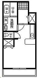 ツーエヌマンション[1階]の間取り