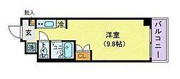 KICS湘南[4階]の間取り