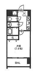 vivi恵美須[8階]の間取り