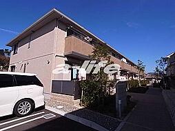 兵庫県神戸市北区鈴蘭台西町4丁目の賃貸アパートの外観