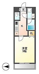 アマーレ東海通[10階]の間取り