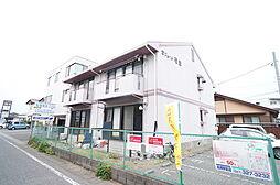 群馬県高崎市筑縄町の賃貸アパートの外観