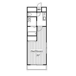FYSIIビル[3階]の間取り