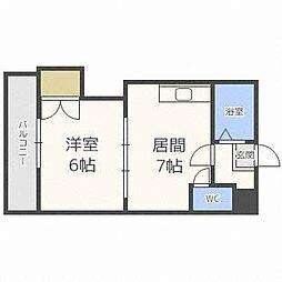 札幌JOW2ビル[9階]の間取り