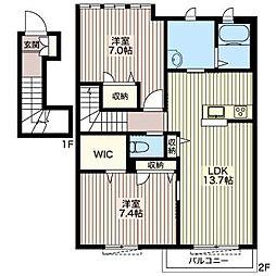 M&Y[2階]の間取り