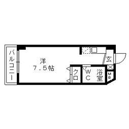フジヤステーションコート浜松[906号室]の間取り