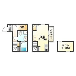 ハーモニーテラス・神戸垂水瑞穂通[2階]の間取り