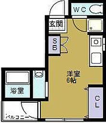 マンション宮本II[2階]の間取り