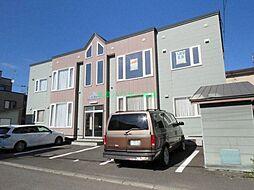 北海道札幌市東区北四十条東4丁目の賃貸アパートの外観