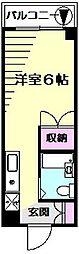 小川ビル[5階]の間取り
