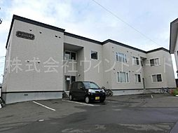 北海道札幌市中央区北十三条西16丁目の賃貸アパートの外観
