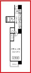 東京都文京区湯島2丁目の賃貸マンションの間取り