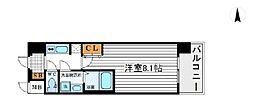 アドバンス新大阪III[3階]の間取り