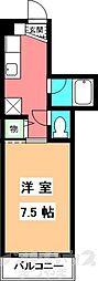 KBコート土居田I[202号室]の間取り