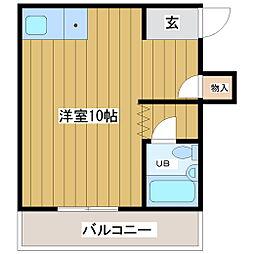 サンハイツ東梅田[2階]の間取り