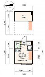 (仮称)豊島デザイナーズ賃貸コーポB[102号室]の間取り