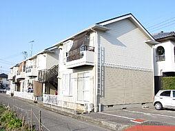 愛媛県松山市余戸東4丁目の賃貸アパートの外観