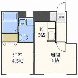 S-COMFORT[3階]の間取り