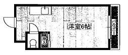 ウイング佐藤[206号室号室]の間取り